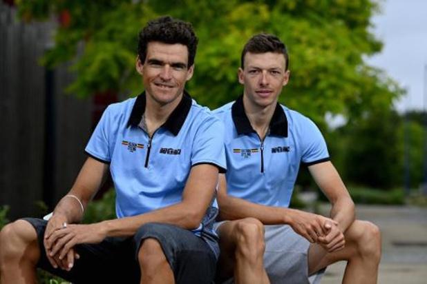 EK wielrennen - Vier Belgische kopmannen maken jacht op Europese titel