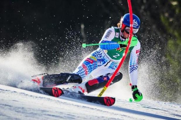 Coupe du monde de ski alpin: Vlhova s'impose après la chute de Swenn-Larsson, alors en tête, dans les dernières portes