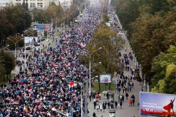 Opnieuw zondagsbetogingen tegen regime-Loekasjenko