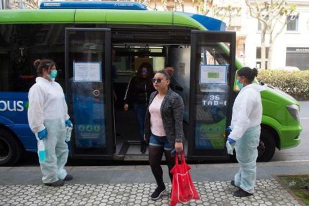 Spanje verplicht mondmasker op openbaar vervoer vanaf 4 mei
