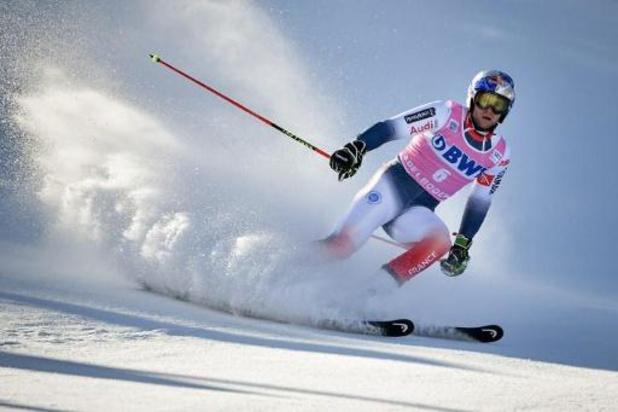Coupe du monde de ski alpin: les deux manches prévues à Yanqing annulées