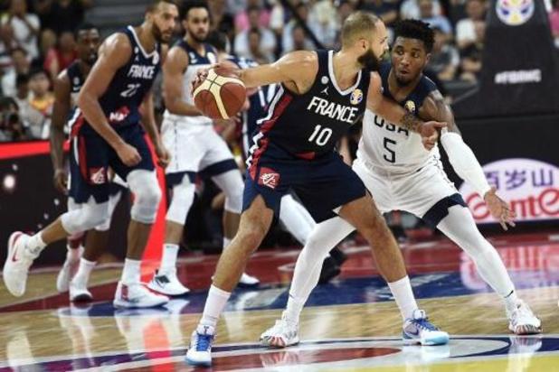 Un choc France-Etats Unis dès la phase de groupe en basket