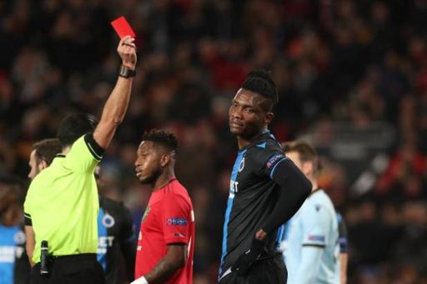 Europa League - Tienkoppig Club Brugge verliest met forfaitcijfers bij ManU en is uitgeschakeld