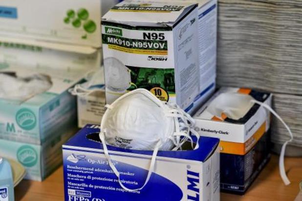 L'association des médecins généralistes flamande demande du matériel de protection