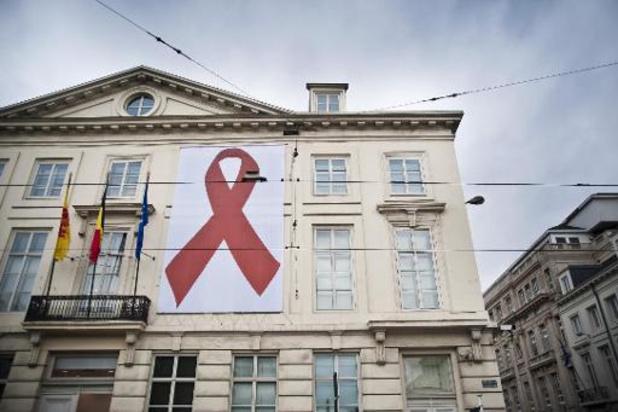 Aantal nieuwe Belgische hiv-besmettingen bereikt plateau