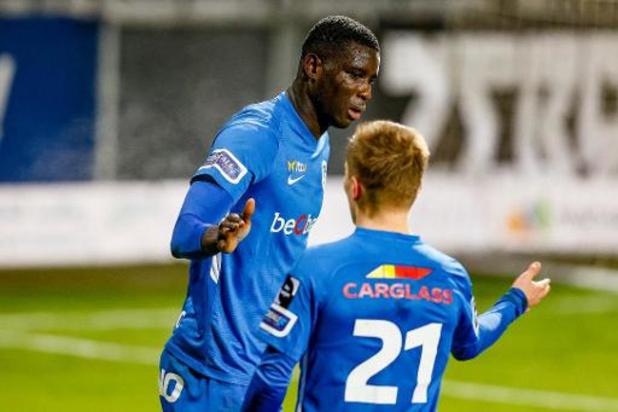 Jupiler Pro League - Genk s'impose 1-4 à Eupen avec un triplé d'Onuachu et revient à un point du Club Bruges
