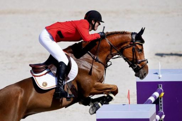 Jos Verlooy champion de Belgique de jumping