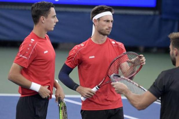 ATP Saint-Pétersbourg - Pas de nouvelle finale pour Sander Gille et Joran Vliegen