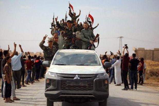 Violents combats entre forces kurdes et proturcs près de la ville clé d'Aïn Issa