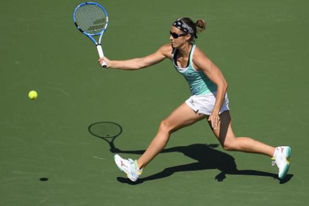 WTA Cincinnati - Kirsten Flipkens naar tweede ronde