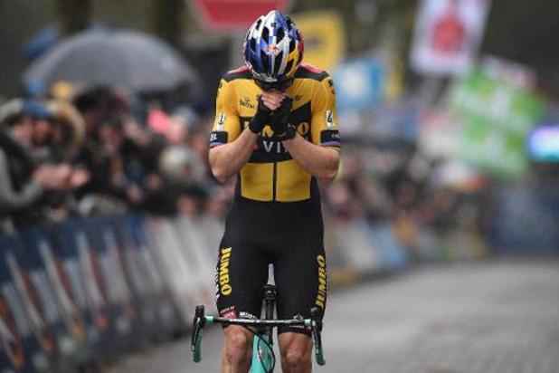 """DVV Trofee Lille - Wout van Aert: """"Dit is de bevestiging dat ik het nog kan"""""""