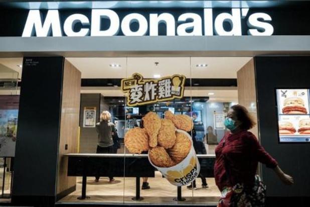 Chine: excuses de McDonald's pour avoir interdit un restaurant aux Noirs