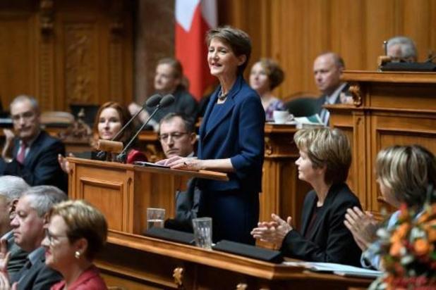 La socialiste Simonetta Sommaruga, présidente suisse en 2020
