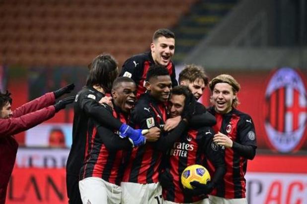 Coupe d'Italie - L'AC Milan en quarts aux tirs au but