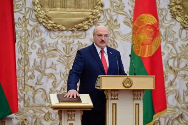 Wit-Russische president Alexander Lukashenko niet welkom op Spelen in Tokio