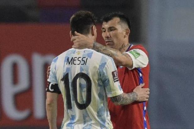 Argentinië laat punten liggen tegen Chili