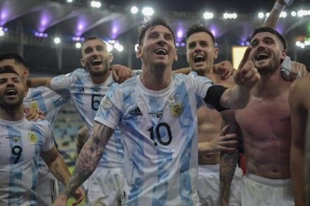 Copa America - Premier titre pour Messi avec l'Argentine