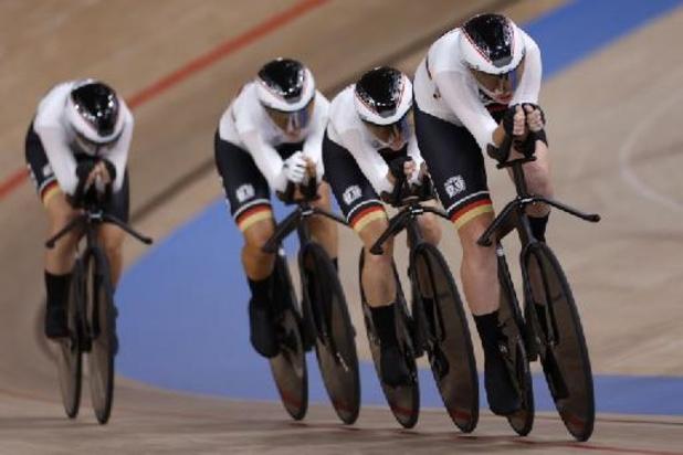 Titre olympique et nouveau record du monde pour l'Allemagne en poursuite par équipe dames