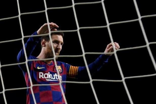 FC Barcelona test woensdag spelers op coronavirus