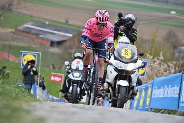 """Stefan Bissegger, vainqueur de la 4e étape du Tour de Suisse: """"c'est encore meilleur qu'à Paris-Nice"""""""