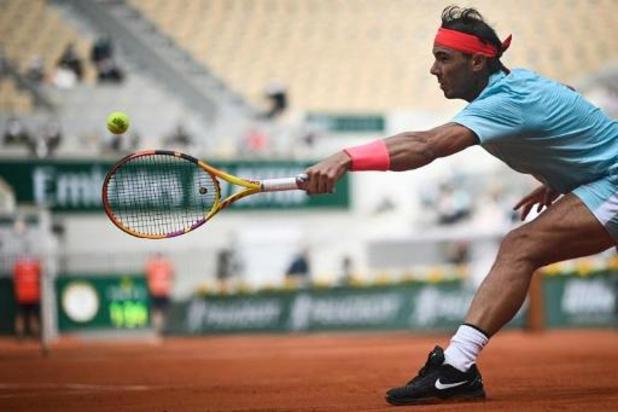 Rafael Nadal gaat zonder problemen naar vierde ronde van Roland Garros