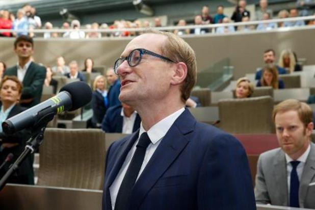 Arnout Coel opvolger van Vlaams Onderwijsminister Ben Weyts in Vlaams parlement