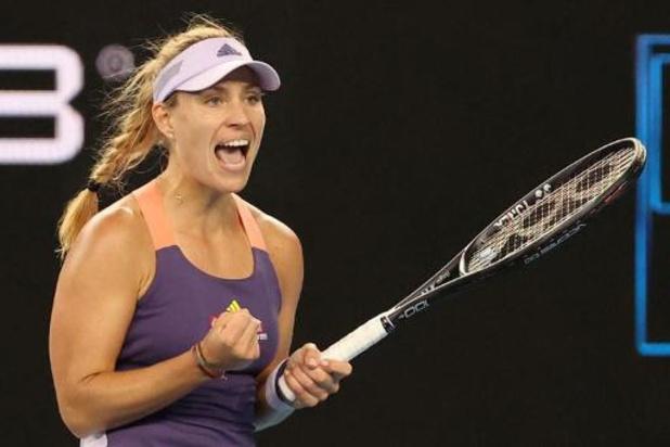 Pour Angelique Kerber, lauréate à Wimbledon, il faut envisager le tennis à huis-clos