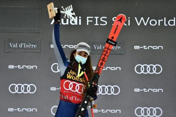 Sofia Goggia wint tweede afdaling Val d'Isère