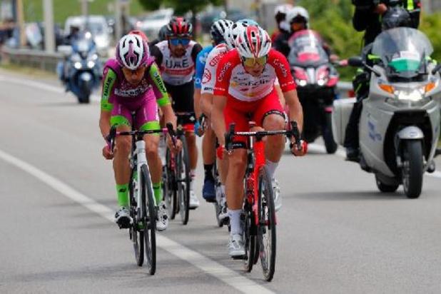 Giro: Victor Lafay soleert naar zege in achtste etappe