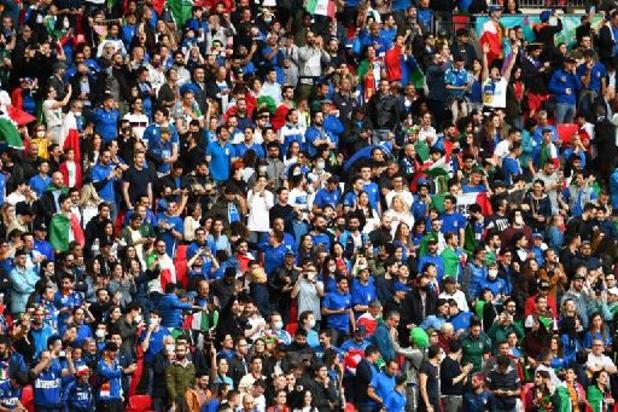 Euro 2020 - Environ 10.000 tifosi et plusieurs VIP à Wembley pour la finale