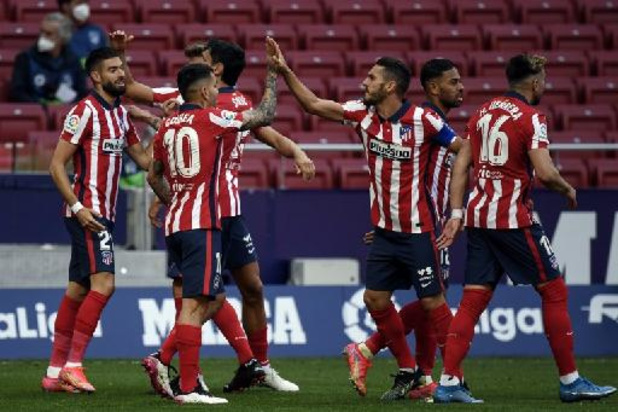 Spelers Atlético Madrid zijn tevreden dat hun club uit Super League stapt