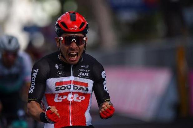 Nouvelle victoire de Caleb Ewan (Lotto Soudal) dans la 7e étape