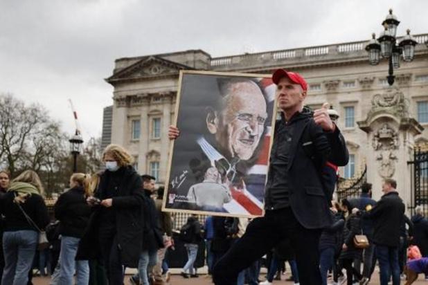Brits parlement eert overleden prins Philip