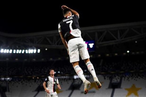 Les Belges à l'étranger - La Juventus s'offre la Lazio grâce à Ronaldo et s'approche d'un nouveau scudetto