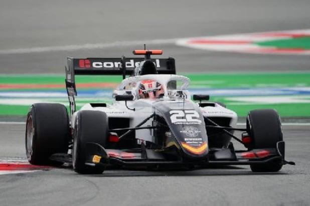 Formule 3 - Amaury Cordeel hors des points pour ses débuts en Formule 3