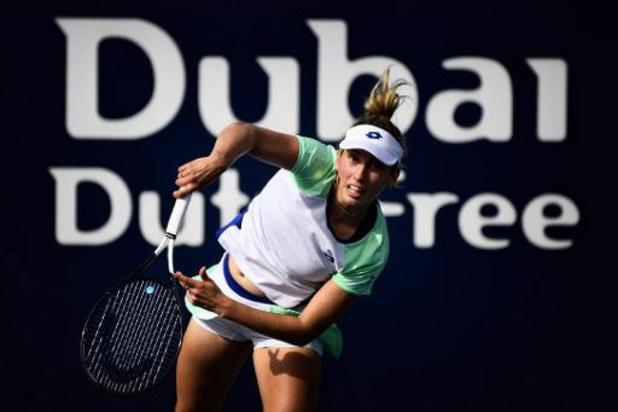 Elise Mertens éliminée au deuxième tour à Dubaï