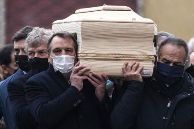 Les champions du monde de '82 ont porté le cercueil de Paolo Rossi pour le dernier hommage