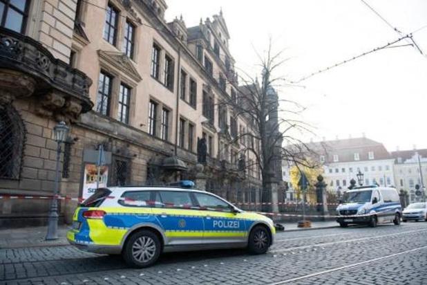 Inbraak in schattenmuseum in Dresden