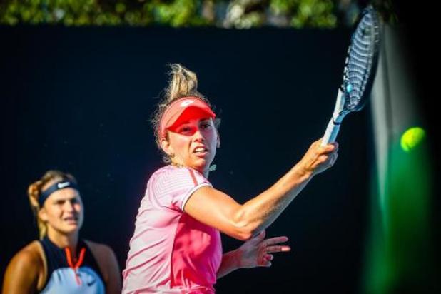 Australian Open - Elise Mertens plaatst zich voor halve finales dubbelspel