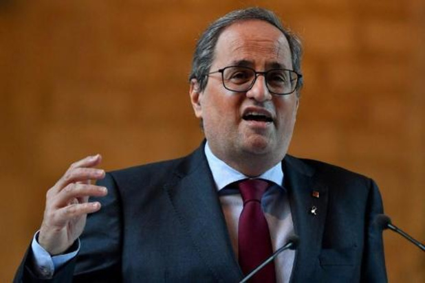 La Cour constitutionnelle espagnole déclare le recours de Quim Torra recevable