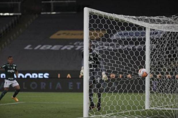 Copa Libertadores - Palmeiras bat Santos 1-0 en finale au bout d'un très long temps additionnel
