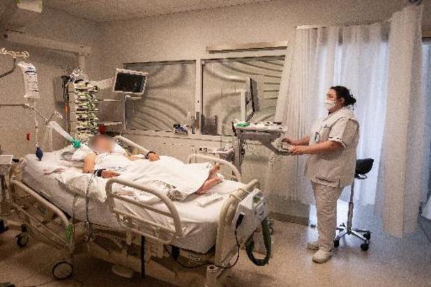 Plus de 900 patients aux soins intensifs