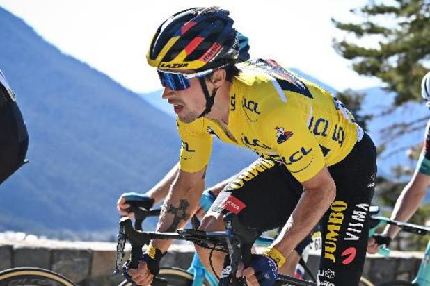 Primoz Roglic verkent daags na eindzege in het Baskenland de twee tijdritten in de Tour