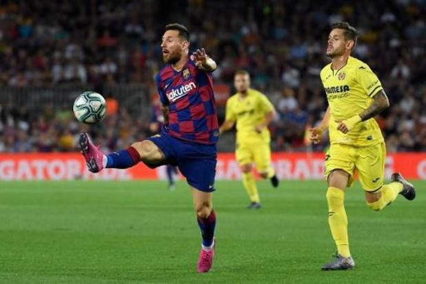 Blessé, Messi doit renoncer au match contre Getafe