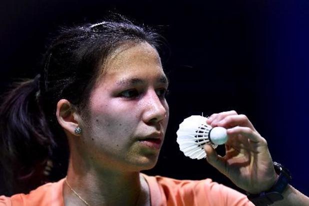 Lianne Tan atteint les quarts de finale, son meilleur résultat à un Euro