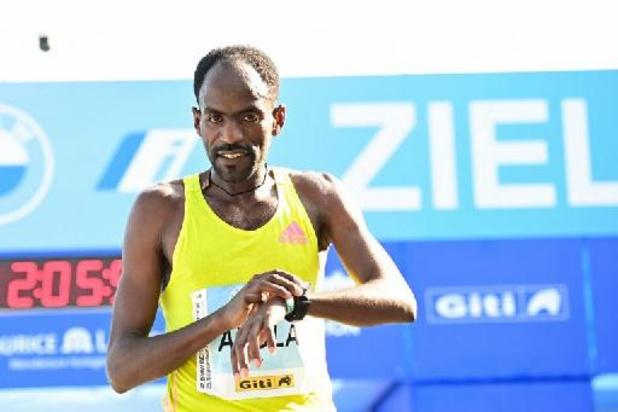 Guye Adola wint marathon van Berlijn, Bekele is pas derde