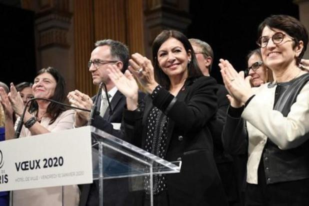 Anne Hidalgo is kandidaat om zichzelf op te volgen als burgemeester van Parijs