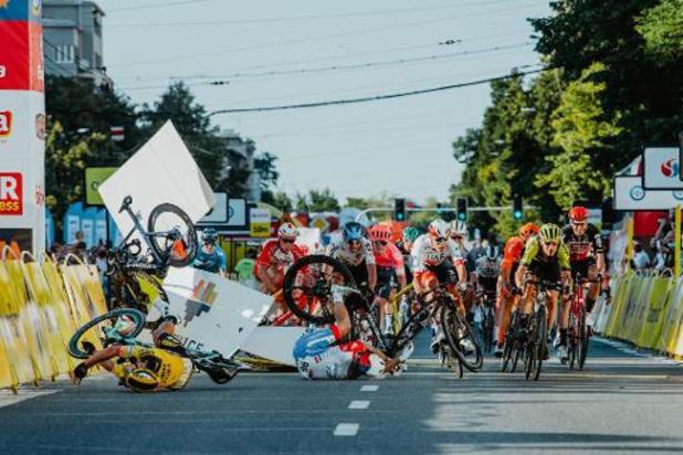 Ronde van Polen evenement van het jaar, ondanks crash Jakobsen