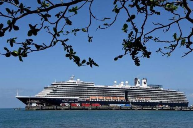Acht Belgen vanop cruiseschip Westerdam nu op hotel in Cambodja