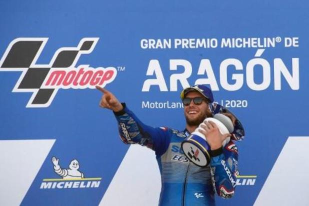 MotoGP - Alex Rins remporte le Grand Prix d'Aragon, Joan Mir prend la tête du classement